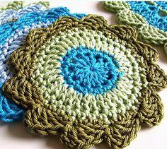 Seaside Coasters...free pattern!