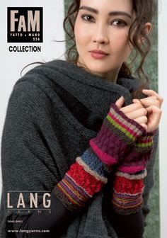 05b736a5807f Catalogue  tricot automne   hiver Lang Yarns Collection FAM 236.  langyarns   laine