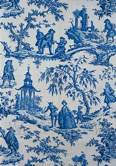 Lethe or Aesop in The Shades furnishing fabric. London, England, late 18th century