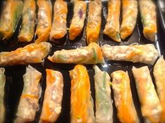 low carb spring rolls | ditchthecarbs.com