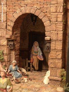 belenistas de la Isla. Fotos Little Land, Diy Nativity, Room Themes, Board Games, Diy And Crafts, Christmas Crafts, Scenery, Miniatures, Fun