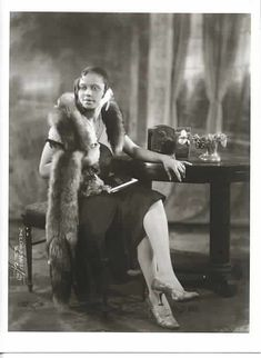 [ The Socialite ] by James Van Der Zee, photographer, 1920s