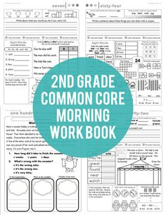 We've made a MAJOR update to our 2nd Grade Common Core Morning Work. Come see the changes and be sure to download the update if you purchased previously.