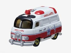 Takara Tomy Tomica Disney Motors DM-04 Worm Mickey Mouse Ambulance Car Toy…