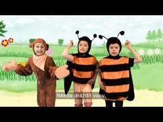 Písničky pro děti - Vosy - YouTube