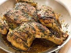 Herbed Roast Chicken - Cooks Illustrated