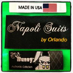 Clothing labels at luckylabel.com