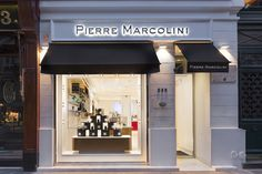 Pierre Marcolini store by into lighting & BETC Design, Paris   France chocolate store