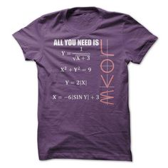 Math All You Need Is LOVE T Shirts, Hoodies. Check price ==► https://www.sunfrog.com/LifeStyle/Math--All-You-Need-Is-LOVE-49106595-Guys.html?41382 $19
