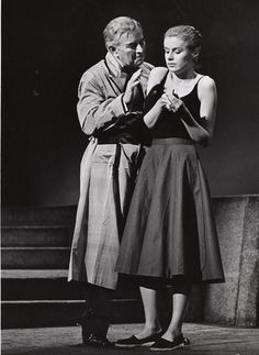 """Sidney Blackmer and Diana Hylands in """"Sweet Bird of Youth"""" by Tennessee Williams, Theatre Plays, Broadway Theatre, Helen Hayes, Dramatic Arts, Tennessee Williams, Golden Age, Diana, Folk, Youth"""