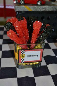 Ferrari inspired / Racecars Birthday Party Ideas | Photo 12 of 21