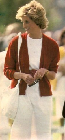 May 29, 1985: Princess Diana watches Prince Charles playing polo at the Guards Polo Club on Smiths Lawn in Windsor, Berkshire.