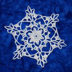 Snowflake directory. Free crochet patterns of several different types of snowflakes.
