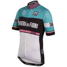 Santini Giro d Italia San Lorenzo Al Mare -Sanremo Jersey Cycling News 2ae7d6706