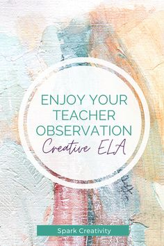 Need a creative ELA activity for your teacher observation? Choose from over twenty engaging, creative strategies for your middle or high school ELA students in this blog post from Spark Creativity. #iteachela #secondaryela Teaching Vocabulary, Teaching Poetry, Teaching Strategies, Creative Curriculum, Creative Teaching, Teacher Observation, Poetry Activities, National Poetry Month, Blended Learning
