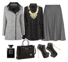 #508 by sadiesyn on Polyvore featuring polyvore fashion style Retrò MANGO Topshop MICHAEL Michael Kors Belle Noel by Kim Kardashian Chanel clothing