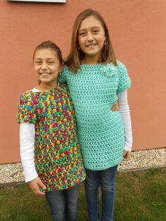 winter crocheted dress