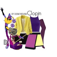 Clopin by leslieakay on Polyvore featuring FAUSTO PUGLISI, Accessorize, Steve Madden, Forever 21, Bling Jewelry, disney, disneybound and disneycharacter