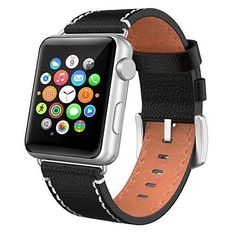 Apple Watch Band 38mm iWatch Genuine Leather Strap Replacement for Series 2 & 1  #WatchBand