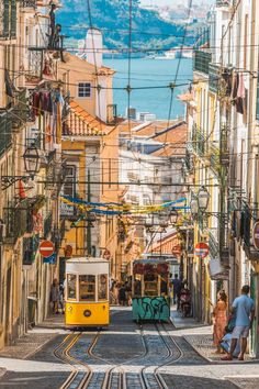 Most Beautiful Streets in the World Every Traveler Must Visit - Architectural Digest Beautiful Streets, Most Beautiful Cities, Beautiful World, Sintra Portugal, Places To Travel, Places To Go, Travel Destinations, Iron Age, Portugal Travel