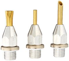 $21.64 - Surebonder 6000 Glue Gun Nozzle Assortment Set, 3-Piece - http://bit.ly/2fMj1DO - 3 specialty extension nozzles: flat, needle and round Check valve included and pre-assembled into each nozzle Ideal choice for light duty industrial and packaging applications