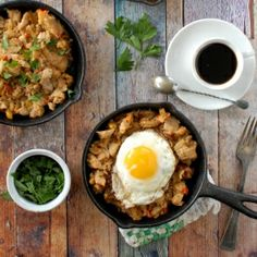 Turkey Holiday Hash; the perfect holiday leftovers recipe.  So good you'll want to make the meal to have this recipe the next day!