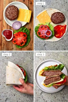 Healthy Low Carb Recipes, Low Carb Dinner Recipes, Diet Recipes, Cooking Recipes, Vegan Rice Paper Rolls, Comidas Fitness, Gluten Free Wraps, Low Carb Wraps, Tortilla Wraps