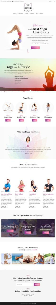 Shanti is Premium full Responsive Retina #WordPress Theme. MailChimp. Timetable plugin. If you like this #WordPressYogaTheme visit our handpicked list of best #Yoga Themes at: http://www.responsivemiracle.com/best-responsive-wordpress-yoga-theme/