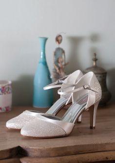 Caroline, Bridal Shoes -  Bruidsschoenen - Brautschuhe