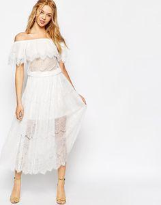 Fantasy Fashion Design: 5 seductores vestidos maxis de encaje de boho