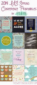 em & me: General Conference Printable Quotes: Part 2 (Freebies)
