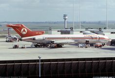 Ansett Airlines of Australia Boeing 727-277/Adv VH-RMV at Melbourne-Tullamarine, August 1976. (Photo: George Canciani)
