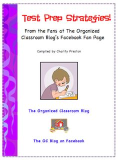 Classroom Freebies: Test Prep Strategies Free eBook