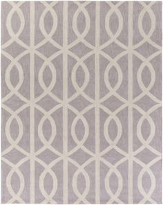 Holden Zoe Light Gray & Ivory Area Rug
