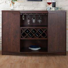 Hokku Designs Messina 7 Bottle Wine Cabinet & Reviews | Wayfair