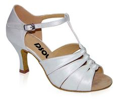 Awesome white dance heels