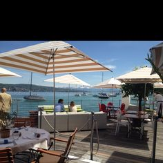 Seerose restaurant. Taste the best of Swiss-French cuisine with an idyllic view. http://www.seerose.ch/