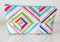 Selvage Zipper Tote by Vanessa Christenson for WeAllSew