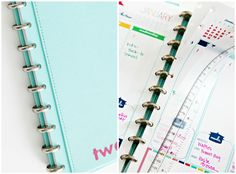 IHeart Organizing: My 2013 Daily Planner!