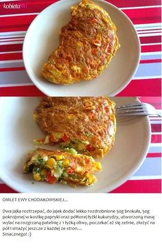 Recipe Chodakowska #omelette