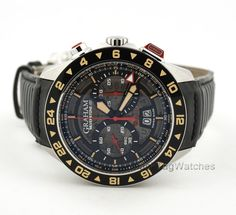 GRAHAM SILVERSTONE RS Flyback Skeleton GMT Limited Edition 2STDC.B08A #Graham #LuxuryDressStyles