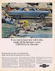 Chevelle Ad Chevy Chevelle, Chevrolet - Vintage Magazine Advertisement - Wall Art to Frame 1964 Chevelle, Chevrolet Chevelle, Chevrolet Bel Air, Vintage Advertisements, Vintage Ads, Corvette, Convertible, Man Cave Wall Art, Classic Chevrolet