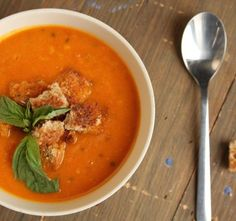 Soup is a staple of any meal and can add flavor to any dish. As soup is normally served first before the main course, it. Chickpea Soup, Cooking With Olive Oil, Thai Red Curry, Sweet Potato, Potatoes, Stuffed Peppers, Meals, Dishes, Ethnic Recipes