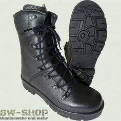 Original Bw Kampfstiefel Stiefel Leder Bundeswehr Schuhe Motorradstiefel Cheap Sales 50% Schuhe & Stiefel