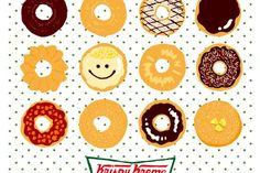 Krispy Kreme donuts by Mami Nagano