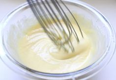my favorite easy mayo recipe...best done by hand (half way down page)
