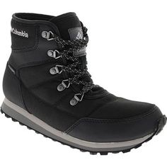 Columbia Wheatleigh Shorty Comfort Winter Boots - Womens Black