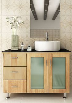Photo Gallery Website Nomad Teak Collection modular design in teak finishes Oak BathroomBathroom VanitiesModular