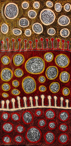Aboriginal Artwork by Raelene Stevens. Arte Tribal, Tribal Art, Aboriginal Dot Painting, Aboriginal Artists, Indigenous Australian Art, Indigenous Art, Aboriginal Culture, Atelier D Art, Native Art