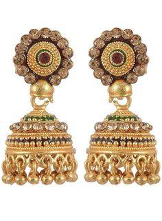 Zaveri Pearls ZPFK313 Alloy Chandelier Earring Price in India ...
